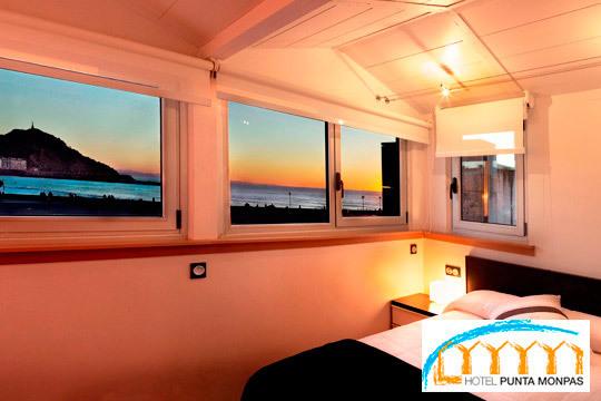 ¡Despiértate con vistas al mar! Una escapada especial a Donostia con noche y desayuno incluido