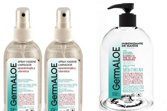 Elige entre spray higienizante o gel con formulación a base de un 70% de alcohol, aloe vera ecológico y glicerina vegetal.