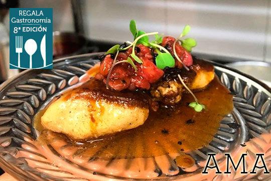 Menú degustación de 11 platos en Ama Taberna ¡Con opción a maridaje!