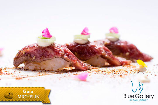 Menú degustación de 6 platos con maridaje de vinos en el Restaurante Blue Gallery ¡Cocina de autor con el chef Saúl Gómez!