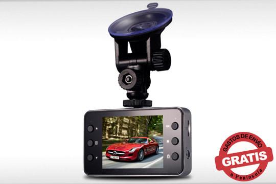 Cámara compacta de coche de Alta Resolución con sensor de movimiento y visión nocturna ¡El mejor apoyo en carretera!