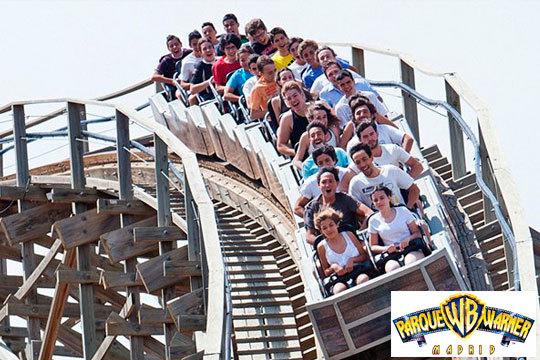 ¡Tu mejor verano en el Parque Warner! Entrada para 1 o 2 días consecutivos para niños y adultos