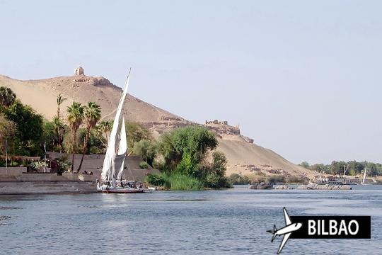 ¡Crucero por el Nilo! Vuelos desde Bilbao + Alojamiento en Hotel El Cairo en San Prudencio