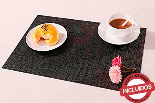 Disfruta de la elegancia en tu mesa con este pack de 6 manteles individuales ¡3 modelos para elegir!