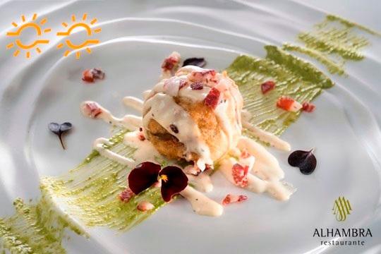 Exclusivo menú con maridaje de sus vinos ¡en el Restaurante Alhambra!