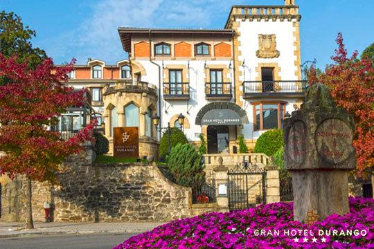 Escapada de lujo y relajación a Bizkaia en el Gran Hotel Durango**** ¡Estancia de 1 o 2 noches con desayuno!