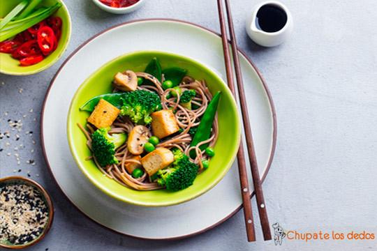 Menú vegetariano de 5 platos con postre y bebida ¡Delicioso!