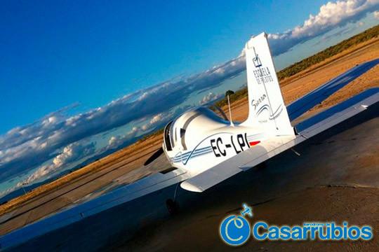 ¡Ponte a los mandos de una avioneta! Pilota sobre la zona de Casarrubios durante 30, 45, 60 o 120 minutos