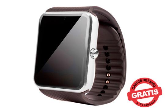 Estarás a la última moda tecnológica con este smartwatch que incluye una ranura para meter tu tarjeta SIM y tener acceso a la agenda de contactos, mensajes, correos y mucho más ¡A la última!
