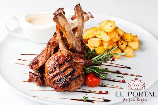 ¡Nuevo menú degustación! En Hotel Restaurante Portal de la Rioja