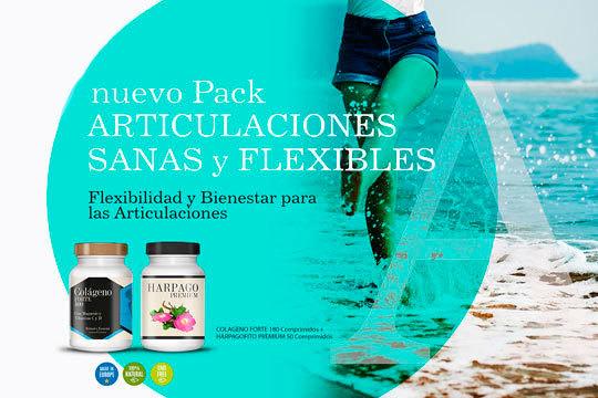 Cuida tus articulaciones y muévete con agilidad gracias a este pack compuesto por Colágeno Forte y Harpagofito Premium ¡Recíbelo cómodamente en tu casa!