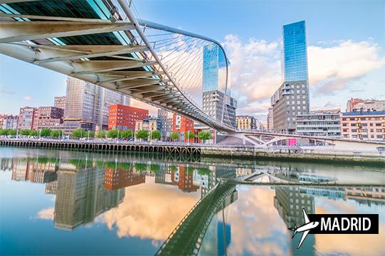 ¡Visita la Villa de Bilbao! Salida de Madrid + estancia de 3 noches en el Hotel Zenit Bilbao, Arenal Bilbao o similar