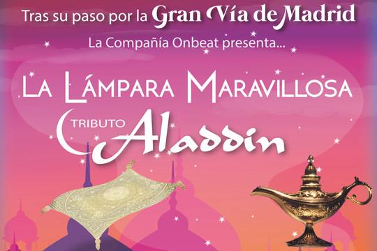 La clásica historia de Aladdin llega a Vitoria el próximo 7 de junio en una versión tributo narrada por el genio que no te puedes perder ¡En el Teatro Jesus Ibañez de Matauco!