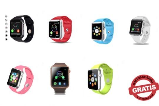 Apuesta por la última tecnología de relojes con este multifuncional smartwatch ¡Incluye bluetooth, reproductor de música y lee mensajes y notificaciones!