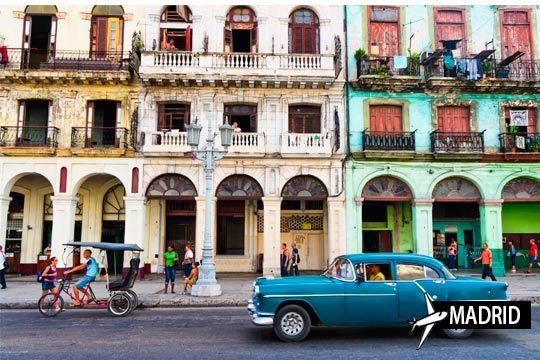 ¡Espectacular viaja a Cuba! Combinado de Habana y Cayo Santa María con estancia de 7 noches y régimen de Todo Incluido