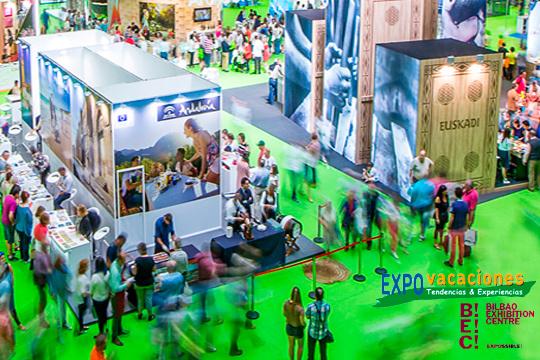 ¡Planea tus vacaciones con antelación en Expovacaciones! Más de 261 stands para que eligas sin limitaciones: playa, campo, ciudad, monumentos....