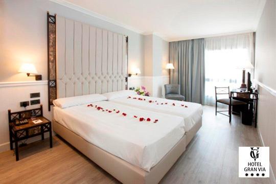 Desconecta de la rutina en La Rioja: Noche con desayuno y visita a bodega en el Hotel GranVía ¡Plan romántico!
