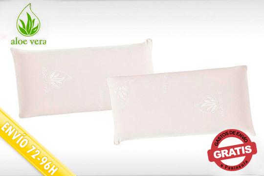 Descubre el verdadero descanso con las almohadas con relleno de lámina y núcleo de copos de espuma viscoelástica ¡Envío incluido!