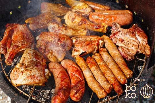 Menú parrillada en Boko Jatetxea ¡Con entrecot, panceta y más!
