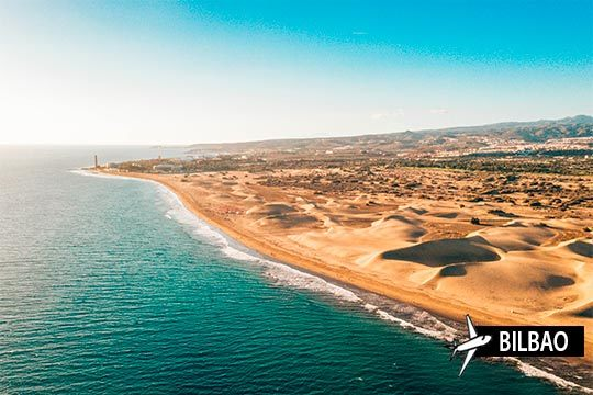Aprovecha el mes de septiembre en Gran Canaria ¡Vuelo desde Bilbao + 7 noches en Media Pensión!
