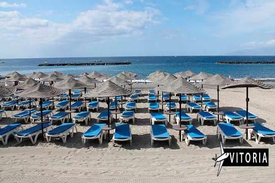 Tenerife Sur: Vuelo de Vitoria + 7 noches en Todo Incluido