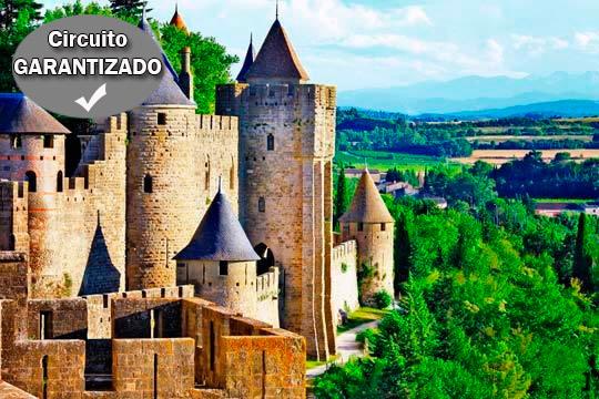 Descubre los mejores rincones de los Cátaros y el Valle de Lot esta Semana Santa con salida desde Bilbao, Donosti, Vitoria, Pamplona y Logroño ¡Elige la tuya!