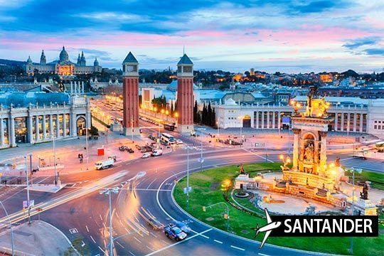 ¡Descubre la ciudad condal en la época más bonita del año! Estancia de 3 noches con desayunos y salida desde Santander