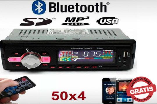 Ameniza tu conducción con la radio para coche con reproductor de MP3 y blueetooth ¡Muy fácil de instalar!
