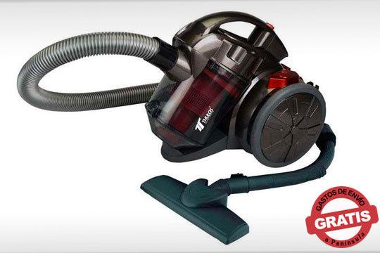 El menor ruido para una limpieza en profundidad con la aspiradora de 700W ¡Con boquilla para suelo y tapicería!