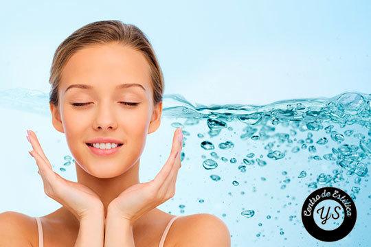 Higiene facial completa en 7 pasos y/o tratamiento LED en Centro Estético YS ¡Luce cutis firme y cuidado!