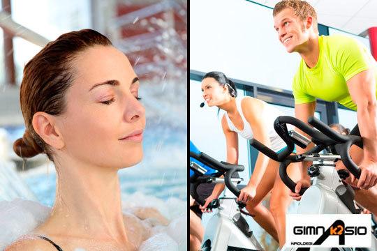 Acceso ilimitado para 1 o 3 días al centro deportivo K2: Sala fitness, clases dirigidas, piscina, Spa, jacuzzi, pádel... ¡Ponte en forma y relájate!