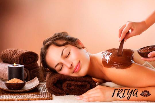 ¡Cuida tu espalda con este tratamiento especial! Limpieza de la piel, peeling, mascarilla de chocolate y mucho más