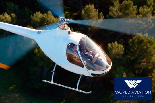 Vuela en helicóptero por Madrid o atrévete a pilotarlo junto a los profesionales de World Aviation Helicopters ¡Una experiencia inolvidable!