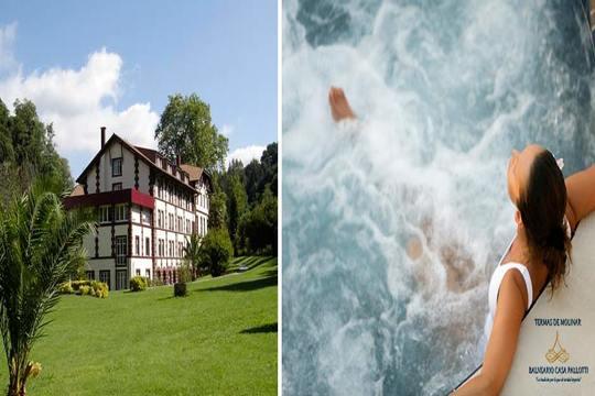 Disfruta de un día de relax en Karrantza en el Balneario Casa Vicente Pallotti ¡Incluye circuito de relajación y opción a menú!