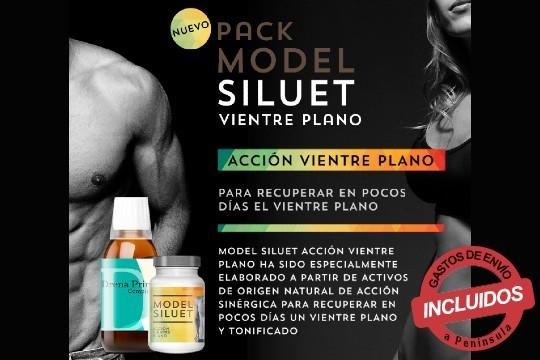 Elimina de tu cuerpo toxinas, grasas y tonifica tu vientre con el pack Model Siluet 30 Comprimidos combinado con Drenaprim Complex ¡No te quedes sin el tuyo!