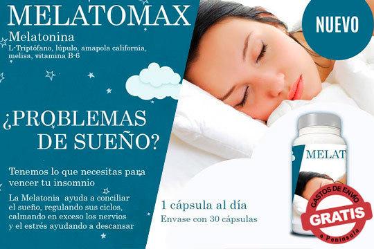 MelatoMax te ayudará a conciliar el sueño, calmando los nervios y el estrés ¡Disfruta del verdadero descanso!