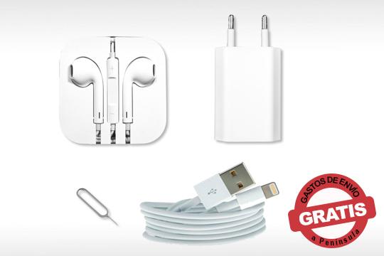 Tu iPhone siempre completo con el pack de accesorios con dos modelos: jack o lightning ¡El mejor complemento para tu móvil!