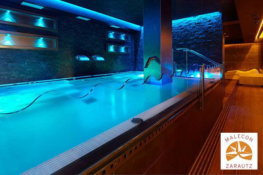 ¡Disfruta de un rato para ti! Circuito Spa para 1 o 2 personas con opción a masaje en el Spa Malecón Zarautz