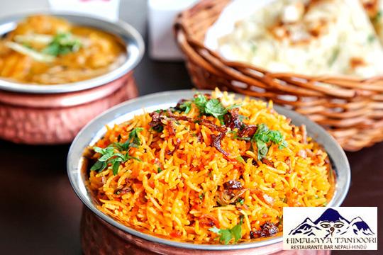 Menú en Himalaya Tandoori con postre y bebida ¡Nueva gerencia!