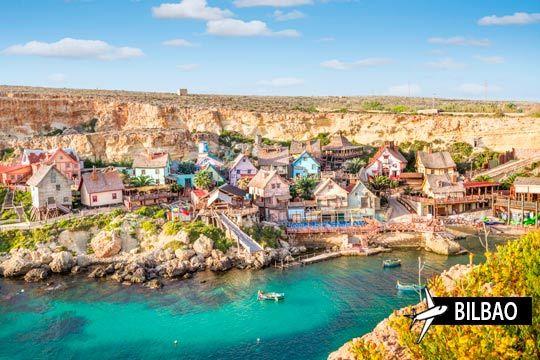 ¡Disfruta de vacaciones en pareja en Malta! Agosto y septiembre con vuelo de Bilbao + 7 noches