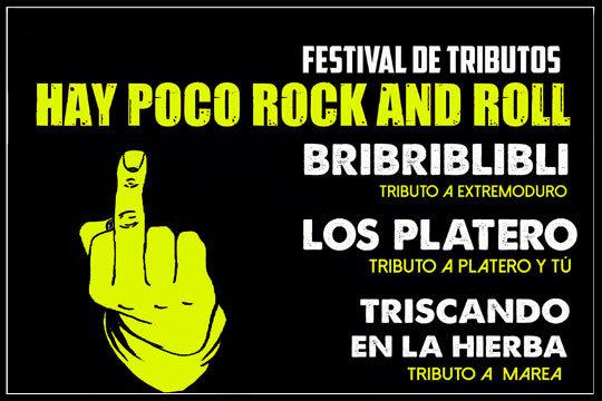 Disfruta de la mejor música con el espectáculo 'Hay poco Rock and Roll' en la sala Kubik ¡Disfruta de los mejores tributos a Marea, Extremoduro y muchos más!