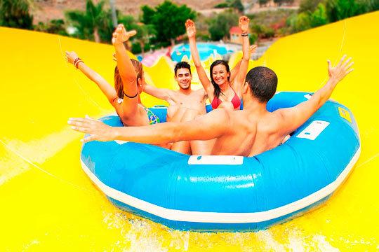¡El mejor plan del verano! Visita el Aqualand Maspalomas con familia o amigos y diviértete en sus múltiples atracciones