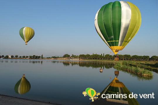 ¡Cumple tu sueño de volar en globo! Vuelo con cava, pastas, diploma acreditativo y transporte incluido