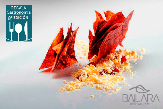 Degusta la gran cocina de autor de Enrique Fleischmann en Bailara