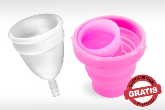 Disfruta de la comodidad y la higiene que te ofrece la copa menstrual Yoba Nature ¡Disponible en diferentes tallas y con taza esterilizadora de regalo!