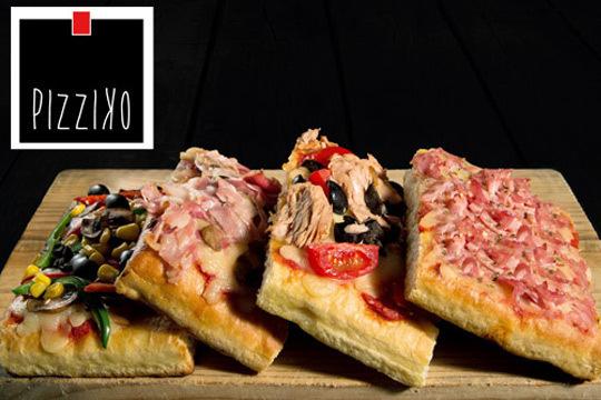 ¡Prueba la auténtica pizza italiana! 2 pizzas + 2 bebidas en Pizziko