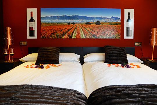 ¡Escapada a La Rioja Alavesa! Noche con desayuno en el Agroturismo Valdelana y visita a bodegas con cata