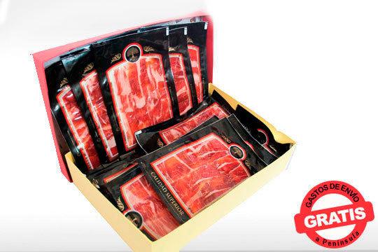 Disfruta del sabor auténtico de una Paletilla ibérica de Guijuelo de elaboración y curación artesanal ¡Pack de 8 o 16 sobres con envío incluido!