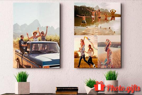 Pon tu casa a la moda con estos bonitos lienzos decorativos ¡Elige tu foto favorita y la medida que prefieres!
