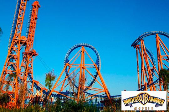 ¡Visita el Parque Warner todas las veces que quieras! Entradas para 1 o 2 días con todas las atracciones de moda
